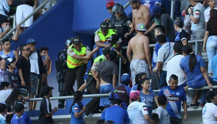 Seguridad en el estadio Capwell