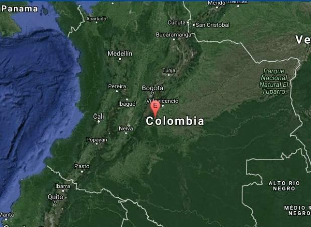 Sismo en Colombia