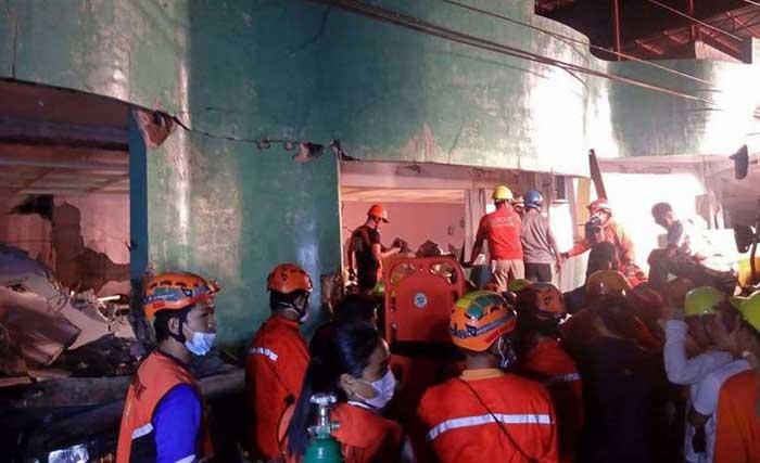 Sismo en Filipinas deja muertos