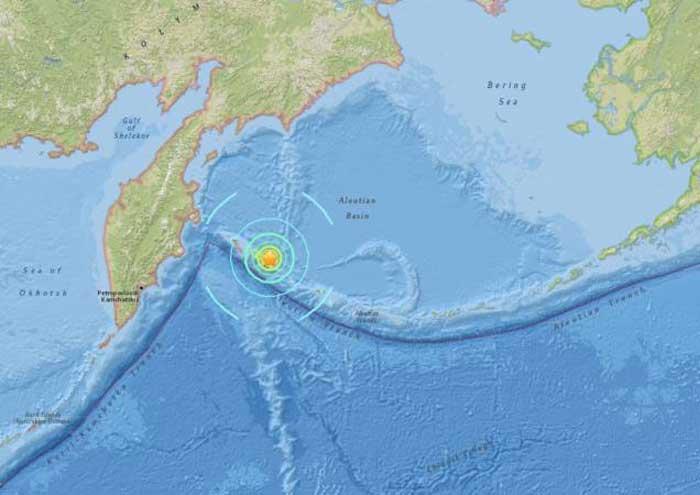 Alerta de tsunami cancelada tras sismo de 7,4 en Rusia