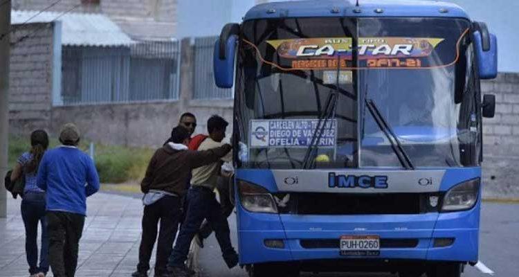 Transporte Público en Quito