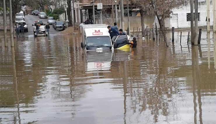 Uruguay, Inundaciones, Desastres Naturales