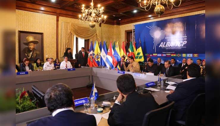 ALBA-TCP, Venezuela, Estados Unidos, Sanciones