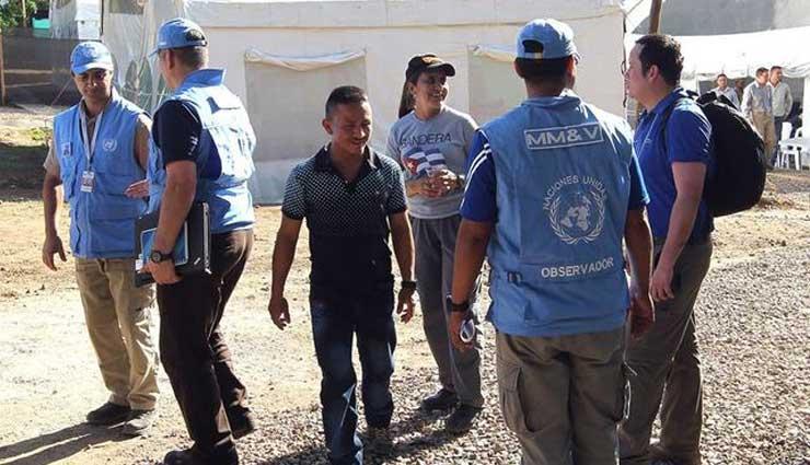 ONU, Colombia, FARC
