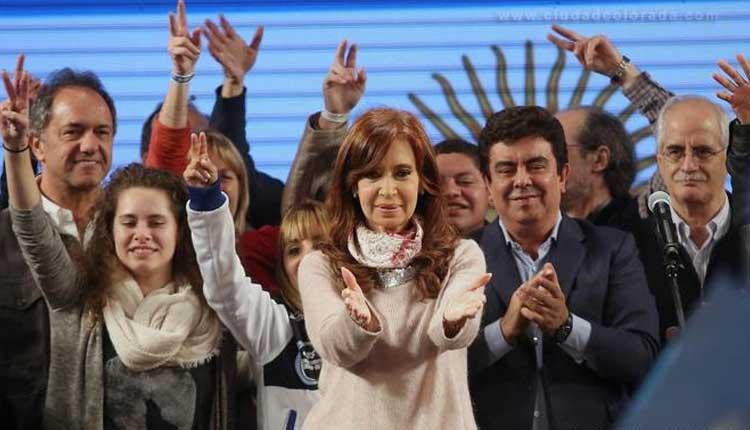 Cristina Kirchnerganó en la PASO