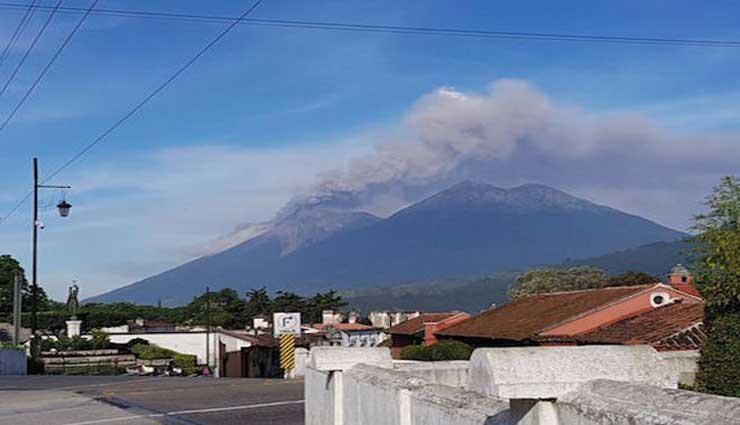 Guatemala, Volcán de Fuego, Volcán, Erupción