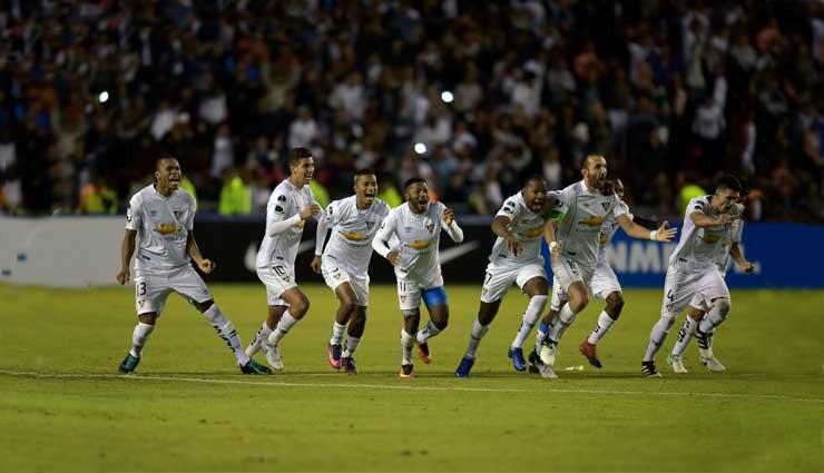 Liga de Quito, Bolívar, Copa Sudamericana, Fútbol