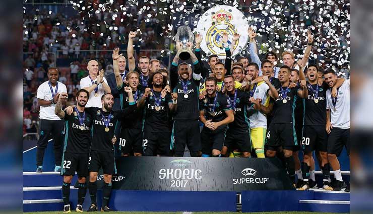 Real Madrid, Manchester United, Supercopa de Europa, Resultados del partido, Fútbol