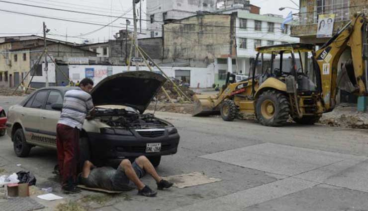 Guayaquil, Obras Públicas, Trabajo, Calles