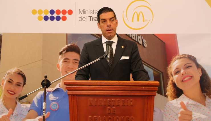 Economía, Lenín Moreno, Raúl Ledesma, Ministerio del Trabajo