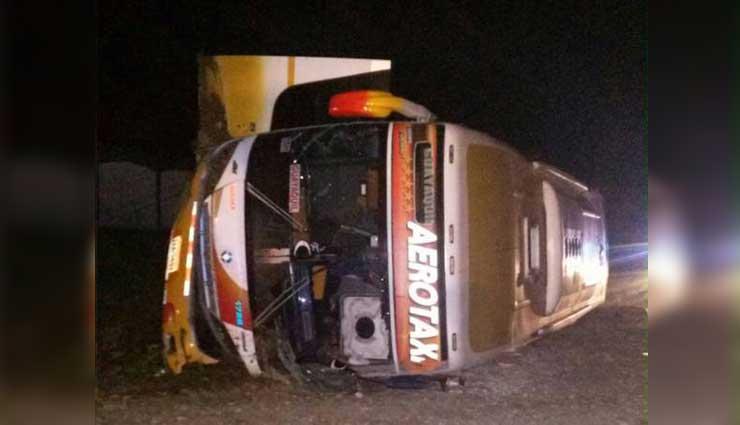 Accidente de tránsito, Santo Domingo, Quevedo, Vías