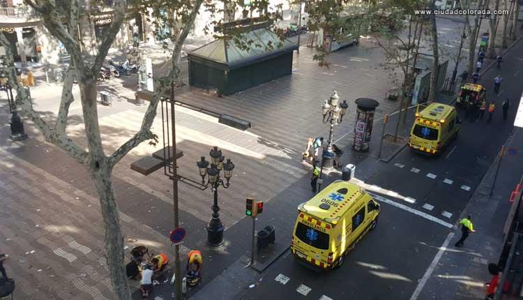 Ramblas, Terrorismo, Barcelona