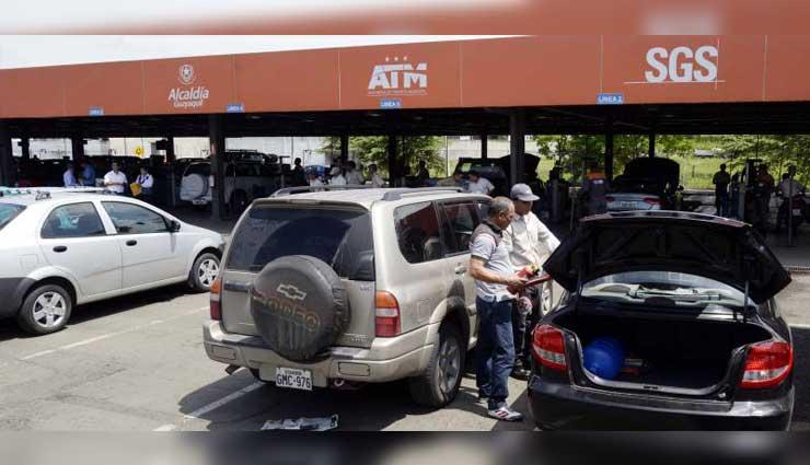 ATM, Matriculación vehicular, Revisión, Guayaquil