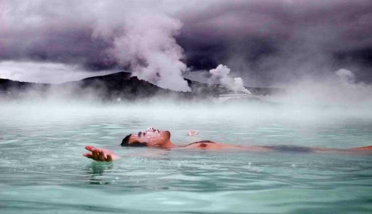 baños de agua, tina de agua caliente, Salud, diabetes 2,