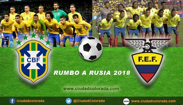 Brasil vs Ecuador en vivo