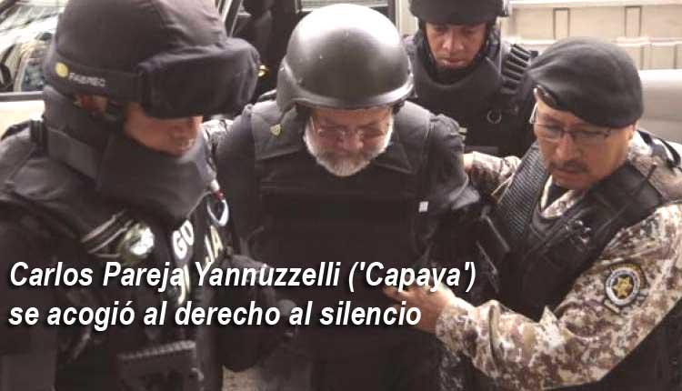 Capaya no rindió testimonio en la Fiscalía