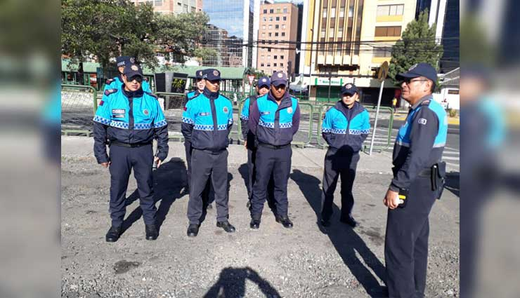 Quito, Policía Metropolitana, Convocatoria