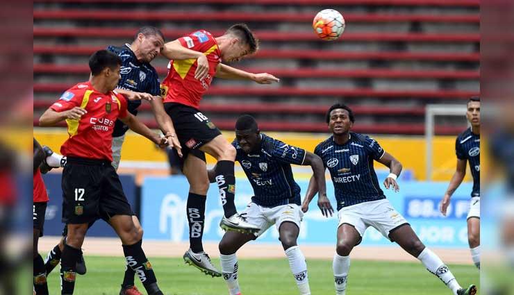 Deportivo Cuenca, Independiente del Valle, Fútbol, Resultados