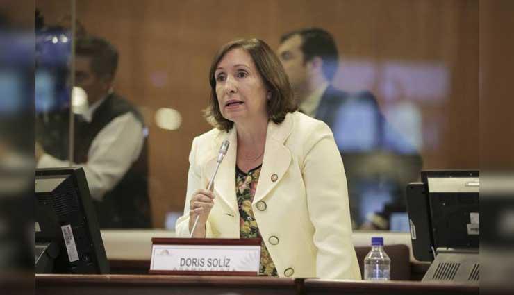 Jorge Glas, Doris Soliz, Alianza País, Asamblea Nacional, Corte Nacional de Justicia