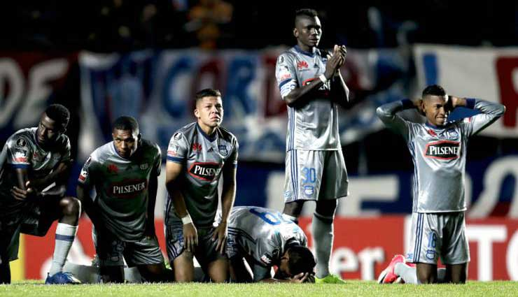 Emelec, San Lorenzo, Copa Libertadores, Fútbol, Resultado