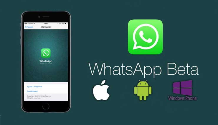 WhatsApp, iOS, Windows Phone, Beta