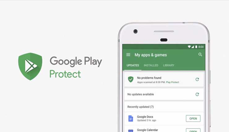 Google Play Protect, Seguridad, Antivirus, Google, Smartphone