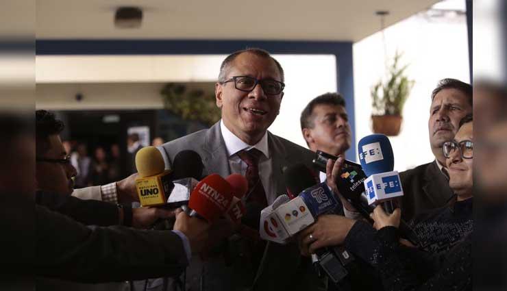 Fiscalia, Jorge Glas, Odebrecht