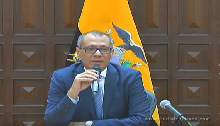 Vicepresidente Jorge Glas