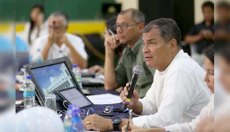 Rafael Correa, Jorge Glas, Odebrecht