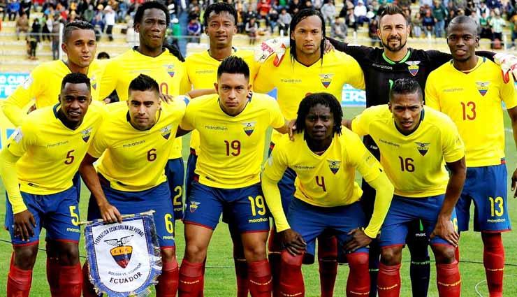 Selección Ecuatoriana, Ecuador, Brasil,