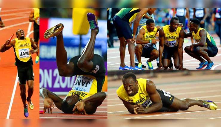 Usain Bolt, Atletismo, Deportes, Lesión, Mundial de Londres