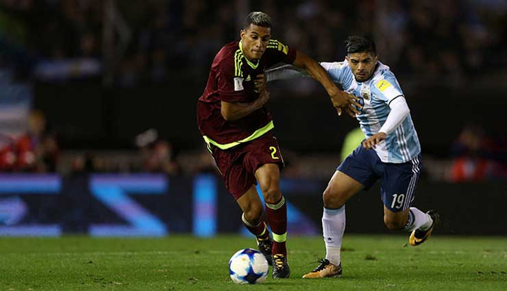 Argentina, Venezuela, Fútbol, Mundial Rusia 2018, Resultados