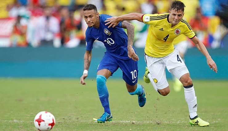 Colombia, Brasil, Copa Mundial Rusia 2018, Fútbol, Eliminatorias, Resultados