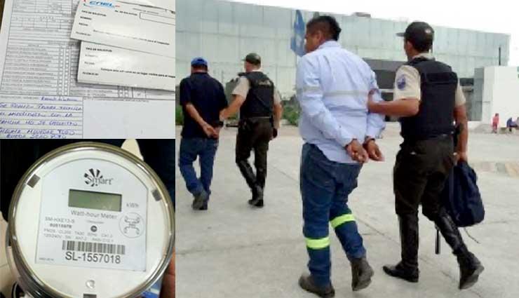 CNEL, Guayaquil, Policía, Estafas