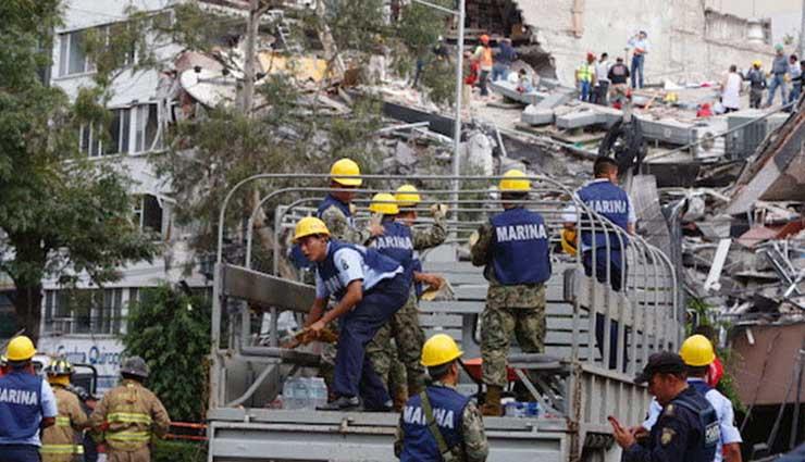 México, Terremoto, Sismo, Desastres Naturales, Dron