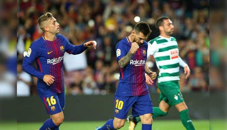FC Barcelona, Lionel Messi, liga bbva, Eibar, Fútbol, Resultados