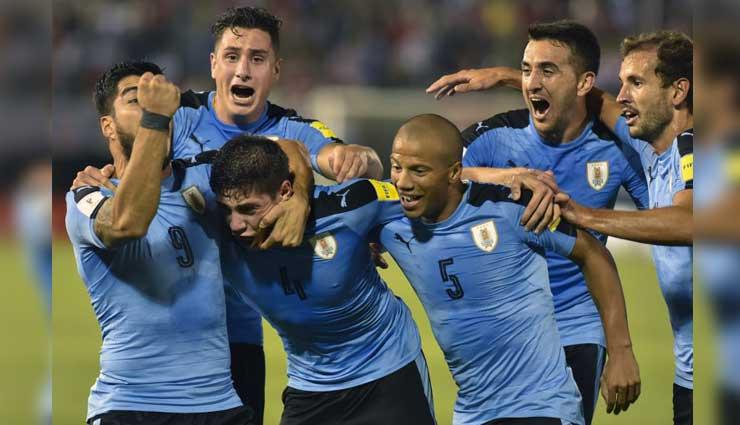 Uruguay, Paraguay, Fútbol, Resultados, Mundial Rusia 2018