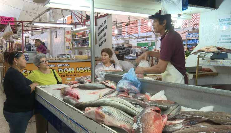 Comerciantes, Santo Domingo, Mariscos,