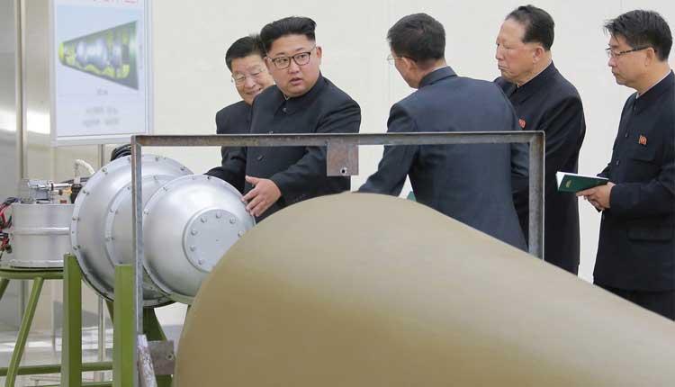 Kim Jong-un, una bomba de hidrógeno