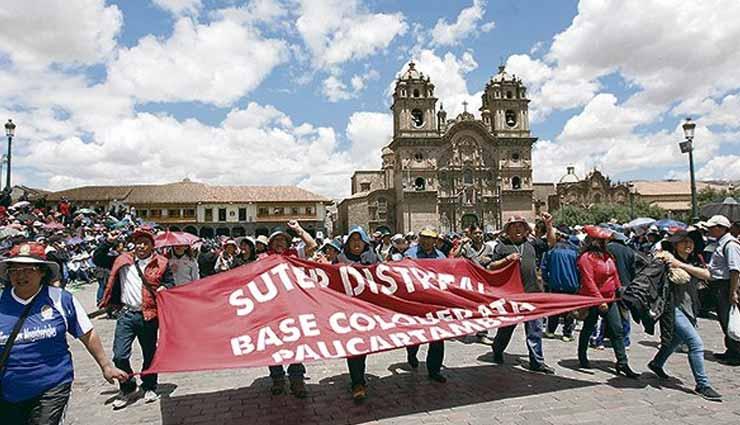 Docentes, Perú, Huelga,