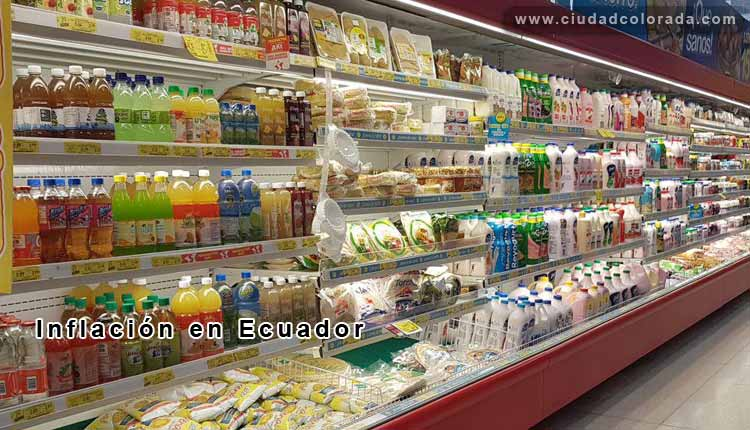 La inflación de agosto en Ecuador es mayor que la del mismo mes del 2016