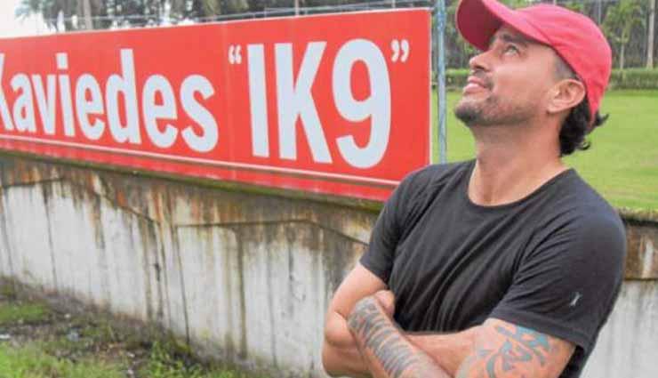 Jaime Ivan Kaviedes, Fútbol, Santo Domingo,