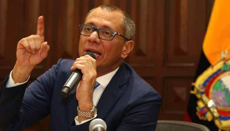 Jorge Glas se defiende ante las acusaciones del delator de Odebrecht