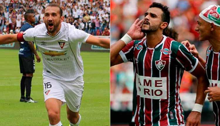 Liga de Quito, Fluminense, Sudamericana,