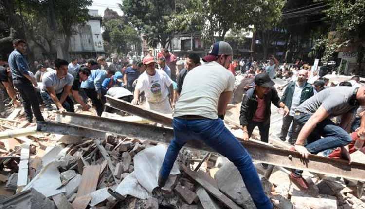 México, Terremoto,