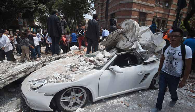 Terremoto, México,