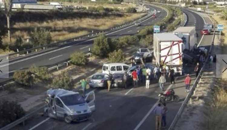 accidente murcia, España, Guardia Civil,