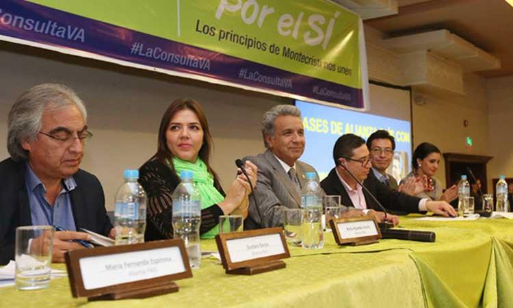 Lenín Moreno, Alianza PAIS, Política