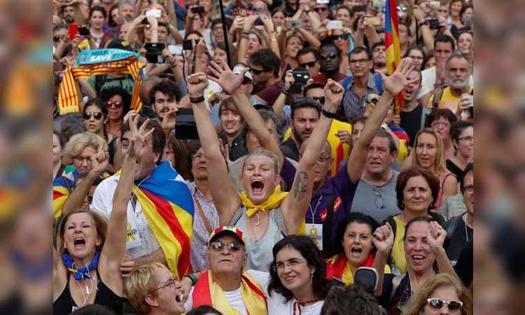 Cataluña, España, Independencia de Cataluña, Política