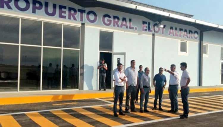 Hangar Provisional, Ministerio de Transporte y Obras Públicas, Ecuador, Turismo,